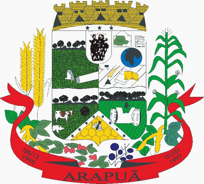 Brasão Prefeitura Municipal de Arapuã
